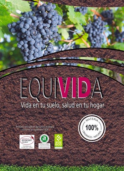 Equivida. Abono orgánico 100% natural Redondo Izal