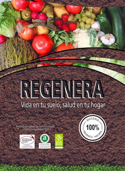 Regenera. Abono orgánico 100% natural Redondo Izal